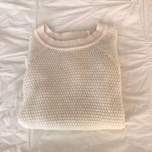 White Crewneck Sweater